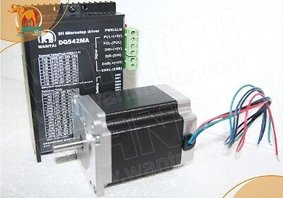 New-one Axis Nema23 Stepper Motor 350oz-in4a4-leadsdriver Cncengraving Cutt