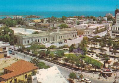 CYPRUS POSTCARD FAMAGUSTA GENERAL VIEW GYMNASEUM PUBLIC GARDEN BY IOANNIDES