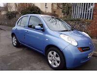 Clean 2005 Lady Driven Economical Nissan Micra 1.2 SE 5-Dr Nice Glass Sunroof - MOT Aug 17