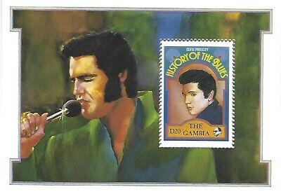 Usado, Elvis Presley The Gambia D20 Stamp Souvenir Sheet 1992 History of Blues #1191 comprar usado  Enviando para Brazil