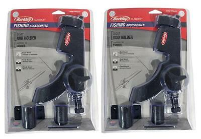2 x New Berkley Boat Fishing Rod Holder Rest,