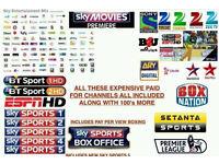 Openbox/Zgemma/Amiko V8S V5S V3 etc - 12 Month Gift/Subscription