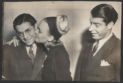1939 Orig 1St Gen Press Photo   Joe   Dom Dimaggio