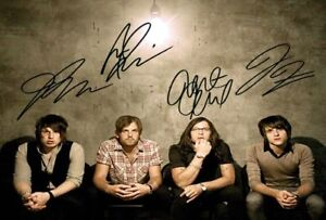 Kings Of Leon Signed Autograph PRINT 6x4' 10x15cm
