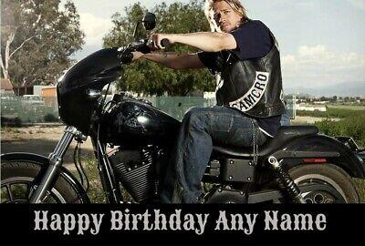 Sons Of Anarchy Jax Personalised Birthday Card