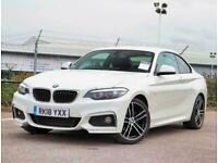 2018 BMW 2 Series 218i M Sport 2dr [Nav] Coupe Petrol Manual