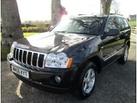 Jeep Grand Cherokee 3.0 CRD V6 auto 'Limited' - low mileage - FSH - Immaculate!