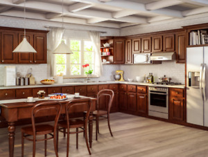 Sierra 10' x 10' wood kitchen - Yours for only $44 a month