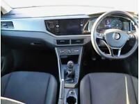 2019 Volkswagen Polo Volkswagen Polo 1.0 TSI 95 SE 5dr Hatchback Petrol Manual