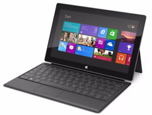 SOLDE: Microsoft Surface RT - 64GB -HDMI - CLAVIER -SUITE OFFICE