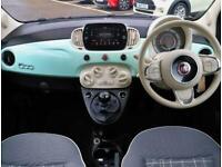 2019 Fiat 500 Fiat 500 1.2 Lounge 3dr Hatchback Petrol Manual
