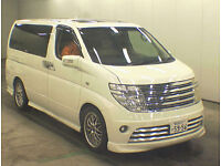 FRESH IMPORT 2004 NISSAN ELGRAND RIDER AUTEC V6 PETROL AUTO TOP OF THE RANGE