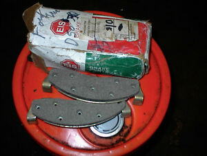 NEW SET OF D50 FORD FRONT BRAKE PADS EIS 1960S,70S $8 SET