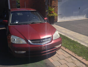 2002 Acura EL Sedan For Parts (Transmission No Good!!)