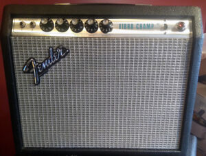 1978  Fender Silverface Vibro Champ Condition Showroom.