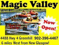 MAGIC VALLEY is OPEN for the Holiday!