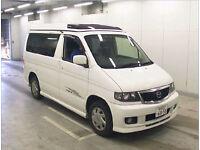 FRESH IMPORT 2005 NEW SHAPE MAZDA BONGO 2.0 PETROL AUTO CAMPER ELEVATING ROOF