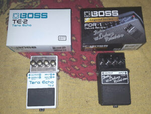 2 Boss pedals for sale