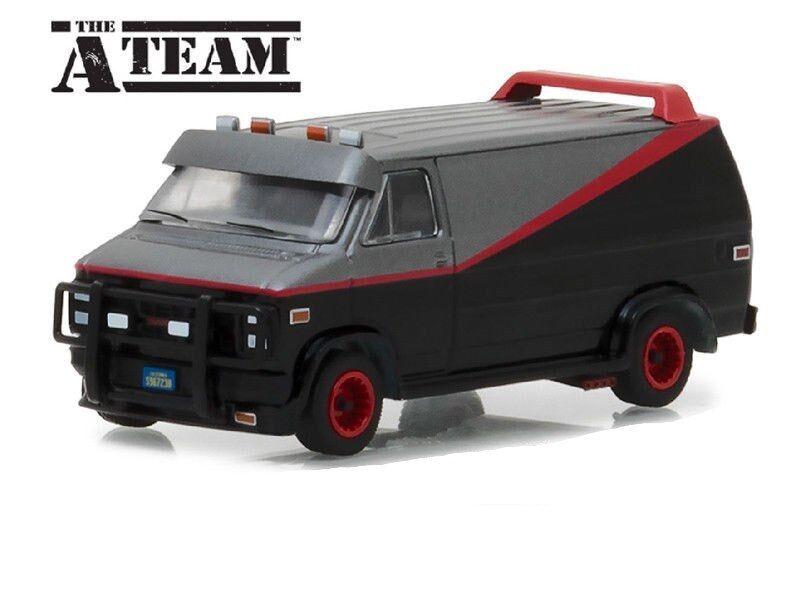 The A Team - 1983 GMC Vandura Van ` A-TEAM VAN **RR** Greenlight 1:64 NEU
