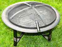 NEW Augusta Steel Fire Bowl