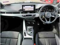 2019 Audi A4 40 TFSI S Line 4dr S Tronic Auto Saloon Petrol Automatic