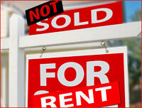 Homesellers: Home not SELLING? Consider RENTING it out...