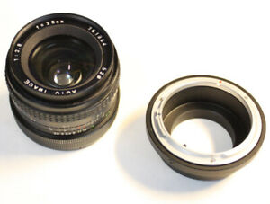 28mm f2.8 Wide Lens / Objectif * +M4/3 or SONY E Adapter **