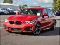 2017 BMW 1 Series BMW 1 125d 2.0 M Sport 5dr Auto Nav Leather Sun Protection Gla