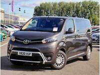 2020 Toyota PROACE VERSO DIESEL ESTATE 1.5D Shuttle Medium 5dr Estate Diesel Man