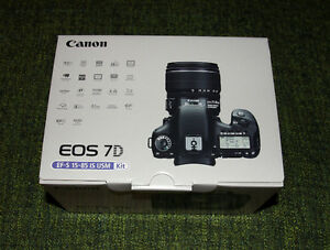 ★ BRAND NEW SEALED CANON 7D 15-85mm IS USM KIT ★1YEAR WARRANTY★