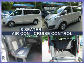 2015 64 Ford Tourneo Custom 8 seater custom 125 bhp