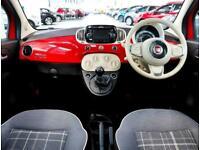 2018 Fiat 500 Fiat 500 1.2 Lounge 3dr Hatchback Petrol Manual