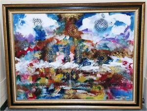 Gyula Marosan Abstract Oil Painting Collection