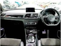 2017 Audi Q3 2.0 TDI [184] Quattro Black Edition 5dr S Tronic Auto 4x4 Diesel Au