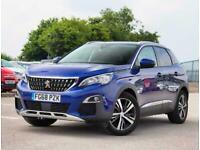 2018 Peugeot 3008 Peugeot 3008 1.2 130 PureTech Allure 5dr SUV Petrol Manual