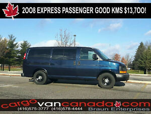 2009 Savana EXPRESS PASSENGER vans - several in stock! Kitchener / Waterloo Kitchener Area image 7