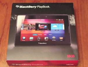 Playbook 16Gb brand new in box unopened