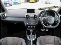 2018 Audi A1 1.4 TFSI 125 Black Edition Nav 5dr S Tronic Auto Hatchback Petrol A