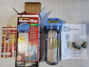 Water filter, whole-house