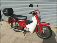 Honda C90 E Cub Economy 1990 Just Serviced New Battery Will Come With Full MOT