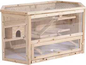 Large hamster/gerbil/rat/mouse cage enclosure