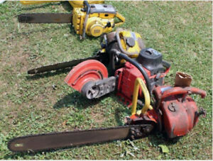 Pickup of dead or non-running Gas powered Tools