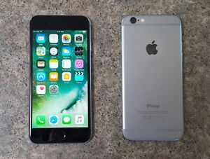 iPhone 6 Space Grey 16GB Fido, Mints condition.