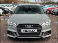 2019 Audi A3 35 TFSI Black Edition 5dr S Tronic Auto Hatchback Petrol Automatic
