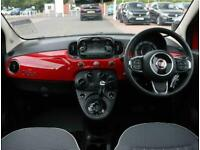 2018 Fiat 500 Fiat 500 1.2 Lounge 3dr Dualogic Auto Hatchback Petrol Automatic