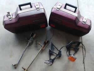 1981 1982 Honda Silverwing gl500 gl650 Fiberglass saddlebags ++
