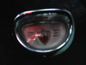 VERY NICE 1958 OLDS STEERING WHEEL CENTER BUTTON $20.00