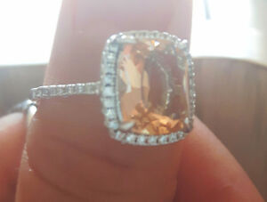 Beautiful Stone Ring Kitchener / Waterloo Kitchener Area image 2