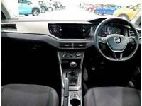 2019 Volkswagen Polo 1.0 EVO SE 5dr Hatchback Petrol Manual