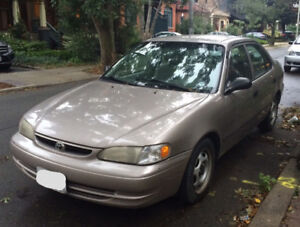 '98 Toyota Corolla - AS IS